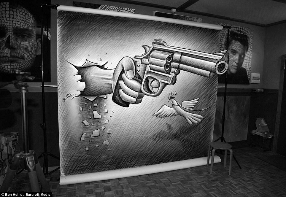 Ilustração 3D de Ben Heine