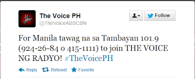 The Voice Ph Audition Metro Manila