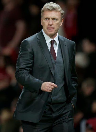 David Moyes Manchester United Manager 2014