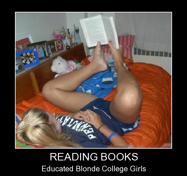 Reading Books - Like A Boss