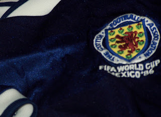 Scotland strip 1986 World Cup