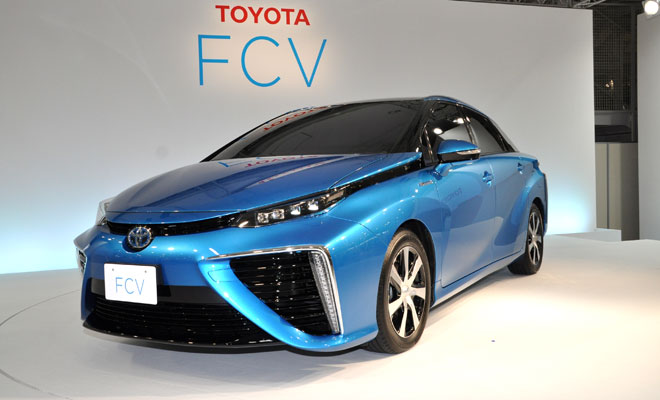 Toyota Fuel Cell Vehicle - front view