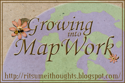 Growing into Map work: homeschool geography ideas