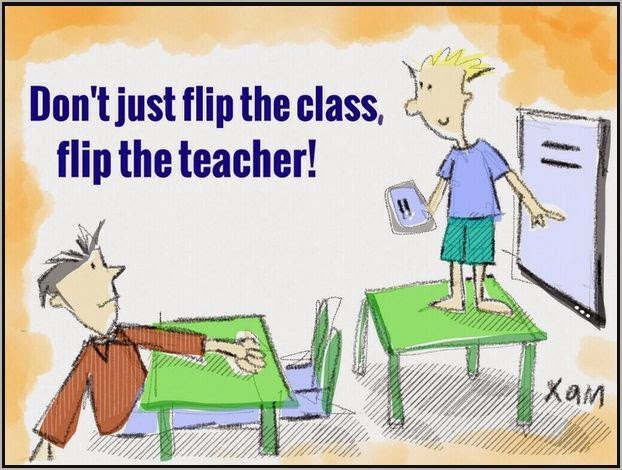 Flipping the teacher