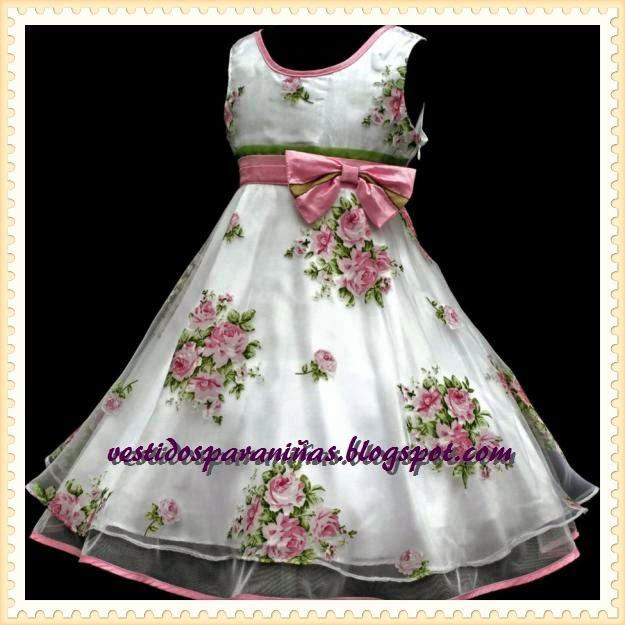 lindos vestidos para niñas