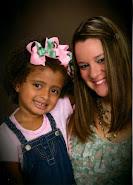 Lyza and her Mama