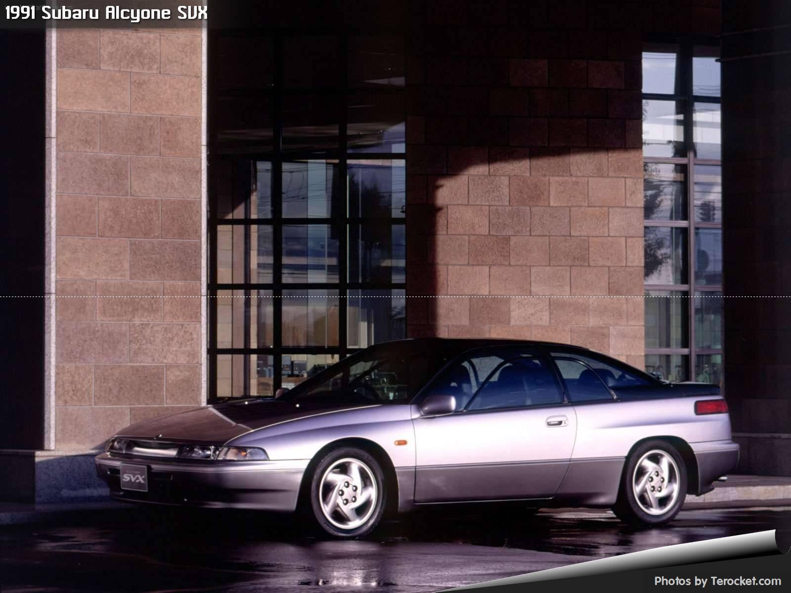 Hình ảnh xe ô tô Subaru Alcyone SVX 1991 & nội ngoại thất