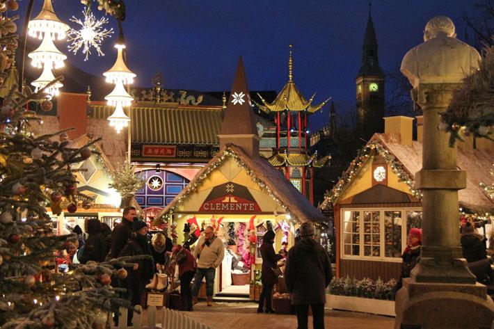 Amalie loves Denmark Tivoli Kopenhagen Weihnachten 2012