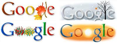 Google da la bienvenida a otoño, invierno, primavera y verano