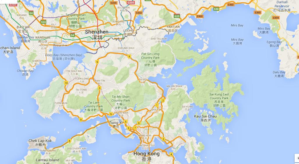 Hong Kong Island Ferry To Shenzhen