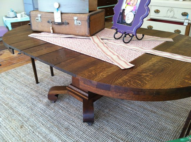 Antique Empire Dining Table