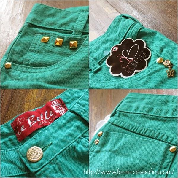 short Le Belle jeans