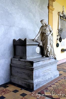 Spomenik Petru Preradoviću - Ivan Rendić, 1879.