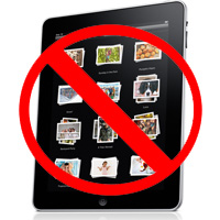 iPad photo sync problem