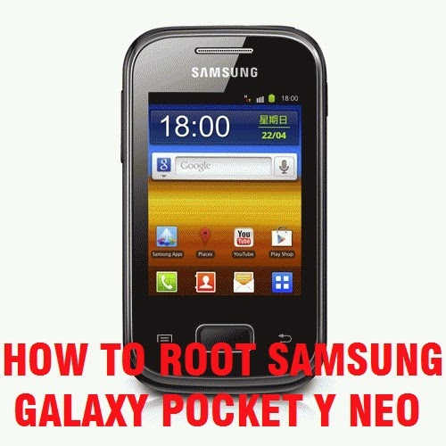 How To ROOT Samsung Galaxy Pocket Y Neo S5312