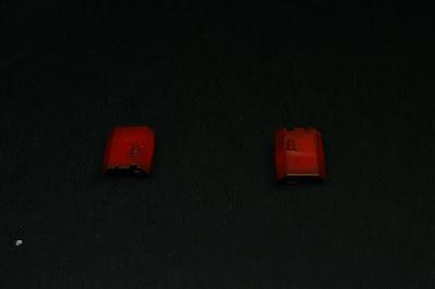 Rojo en los visores del Land Raider