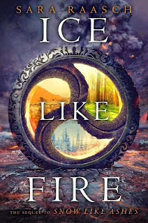 Ice Like Fire by Sara Raasch book cover