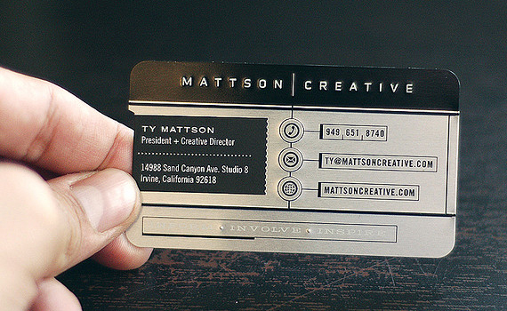 Mattson Creative Business Card