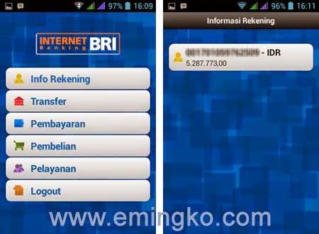 Cara Cek Saldo Rekening BRI Melalui BRI Mobile