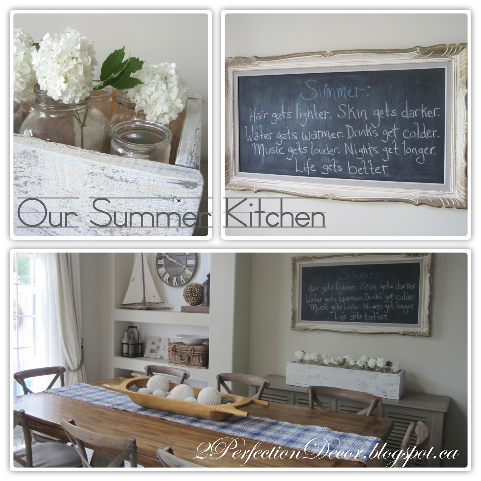 2Perfection Decor Our Summer Kitchen