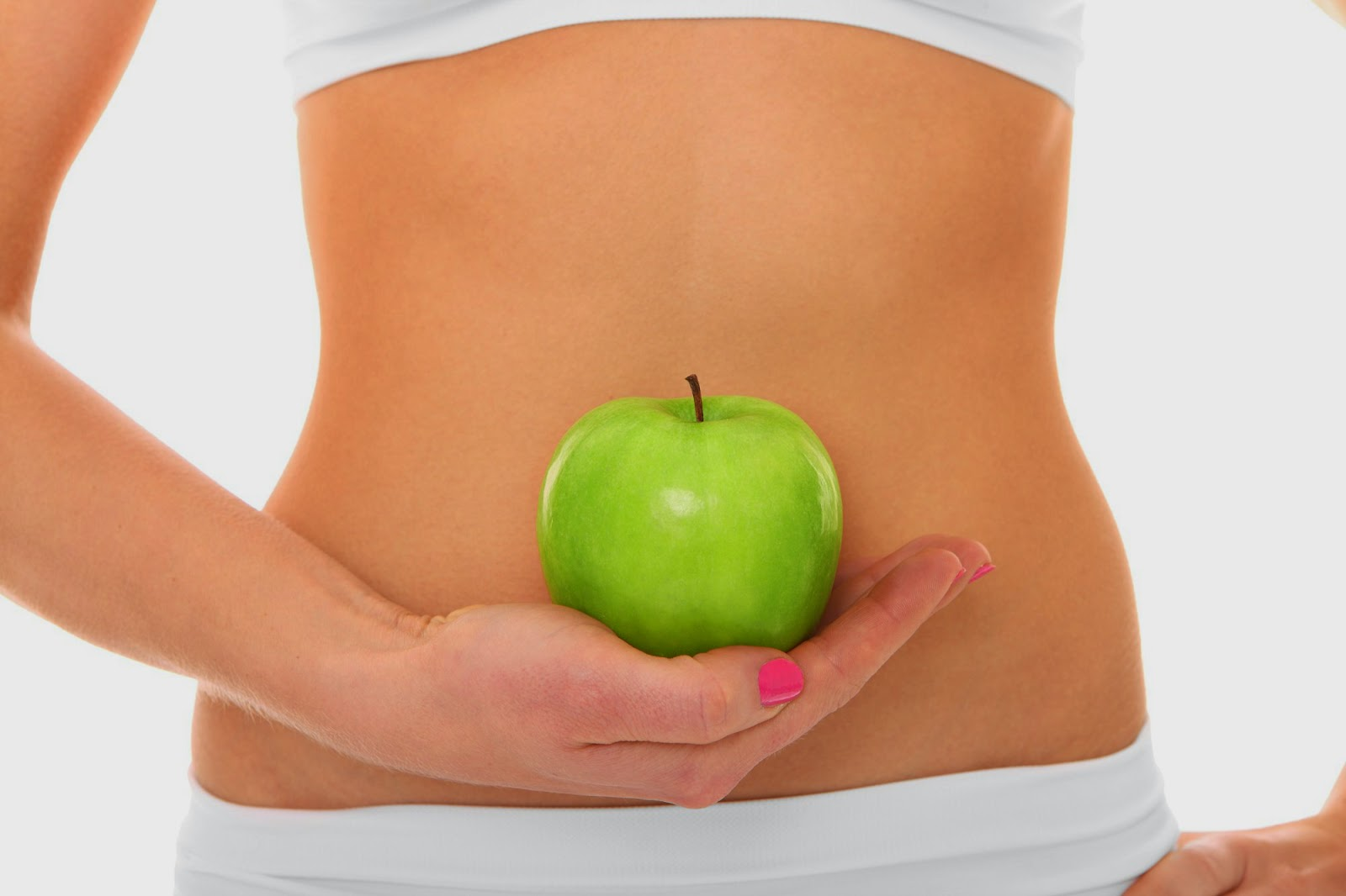 secret to have a flat stomach, flat, stomach, healthy diet, diet, healthy food, food, green apple