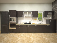Straight Modular Kitchens Gallery