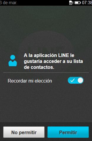 Line firefox OS