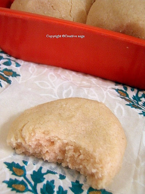 eggless custard powder cookies