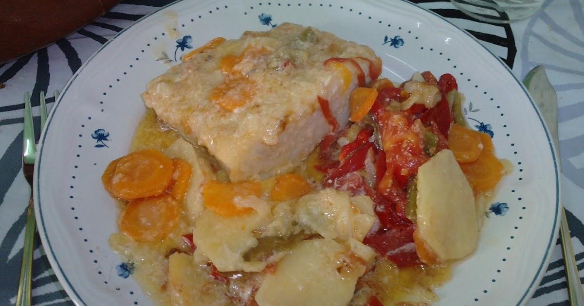 Las recetas de yoli bacalao con leche de los larpeiros - Cocinar bacalao desalado ...