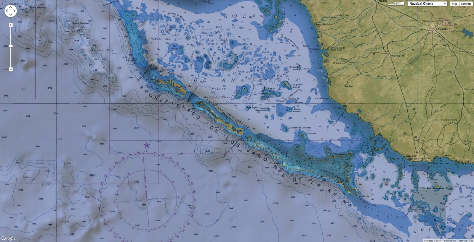 Geogarage blog cuba to foster nautical activities for tourism for Letras gijon jardines de la reina