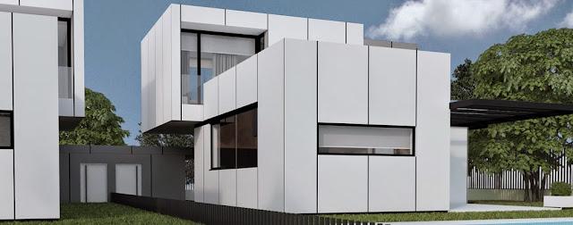 Vivienda modular pareada - Modelo J3 Resan
