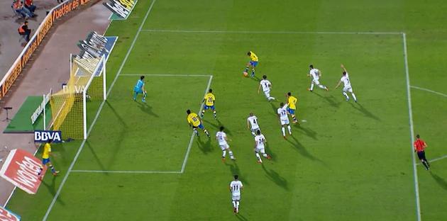 Gol anulado por fuera de juego