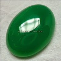 Batu Permata Green Chalcedony Jumbo