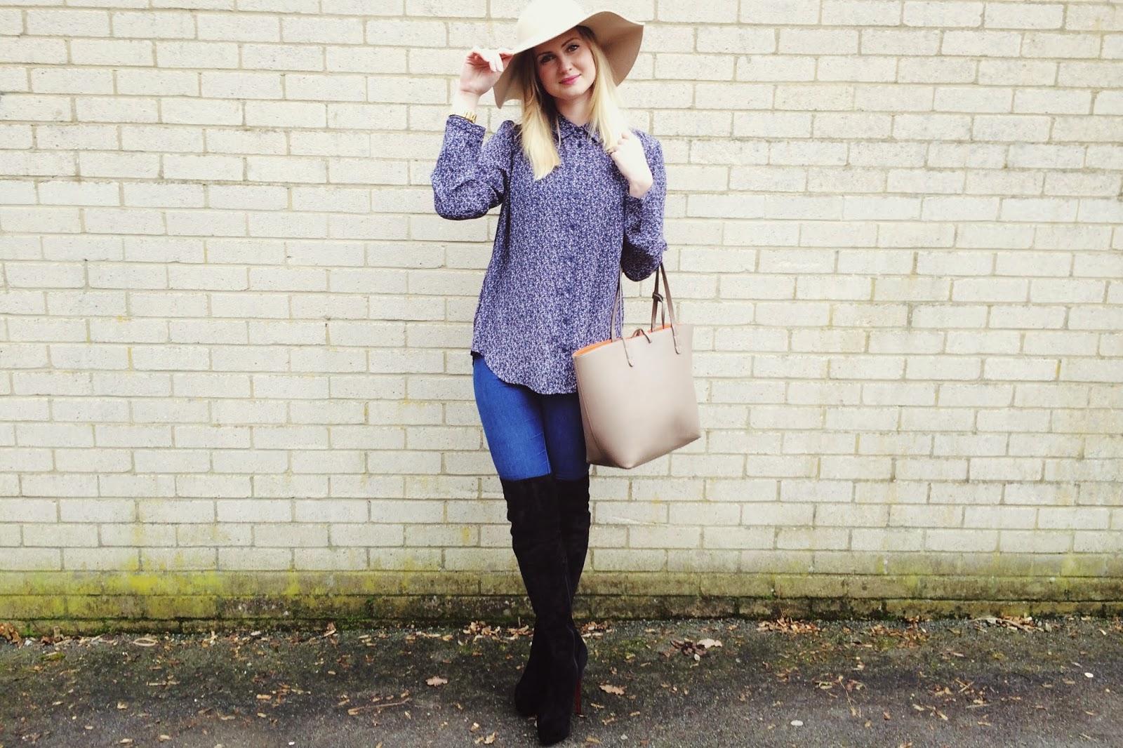 FashionFake, UK fashion blog, fashion bloggers, seventies lookbook