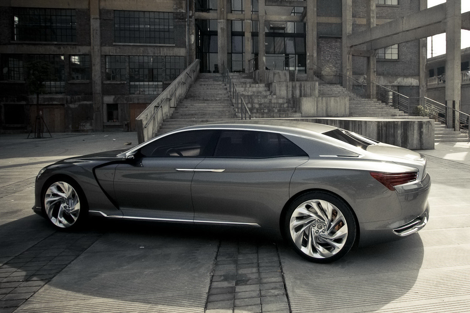 pre production of new citroen c6 starts in china. Black Bedroom Furniture Sets. Home Design Ideas