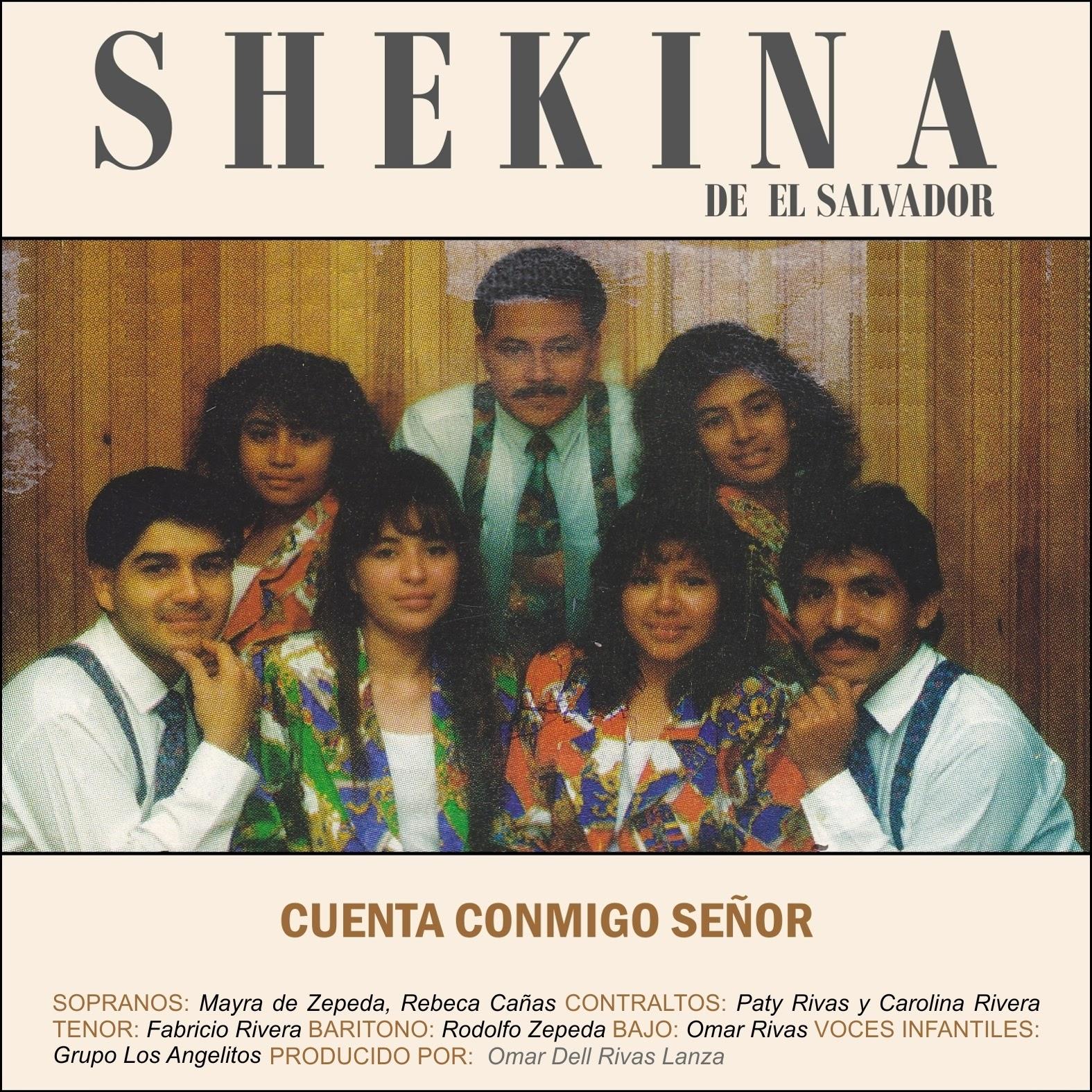 Grupo Shekina De El Salvador-Cuenta Conmigo Señor-