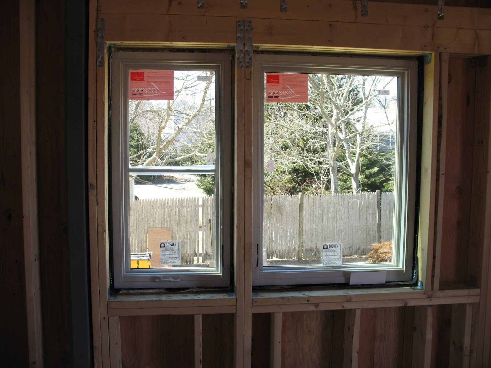 Net Zero Energy Cape Cod Windows Installation Begins