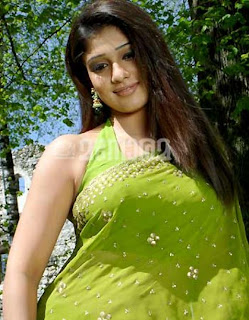 Nayans in a nice saree