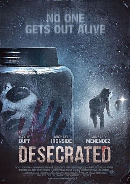 Desecrated (2015) HDRip tainies online oipeirates