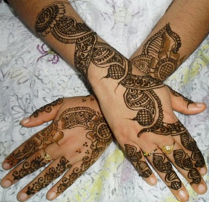 mehndi designs for hands new arabic mehndi designs 2012