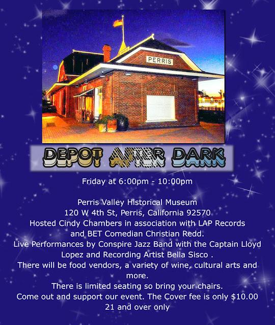 depot after dark Perris