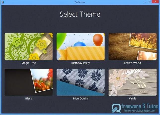 cofeshow un logiciel gratuit qui permet de cr er facilement des diaporamas en vid o avec. Black Bedroom Furniture Sets. Home Design Ideas