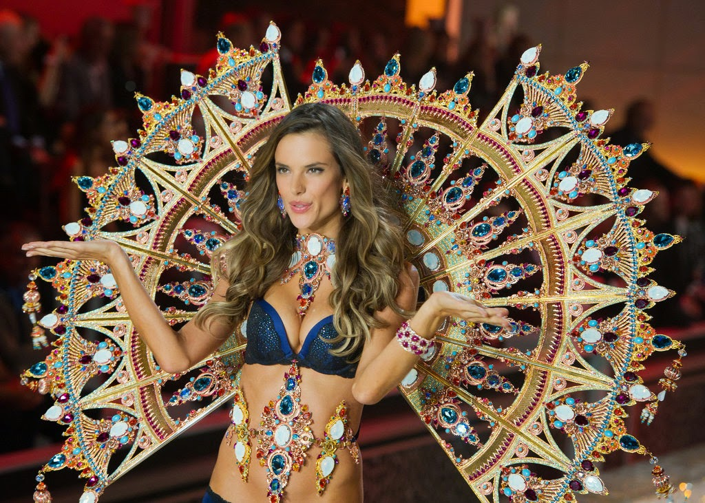 """13078 Alessandra Ambrosio pictures from 2014. Check out the latest pictures, photos and images of Alessandra Ambrosio from 2014. Alessandra Corine Ambrósio (Portuguese pronunciation: [aleˈsɐ̃dɾɐ ɐ̃ˈbɾɔzju]; born April 11, 1981) is a Brazilian model. Ambrosio is best known for her work with Victoria's Secret and was chosen as the first spokesmodel for the company's """"PINK"""" line. Ambrosio is currently one of the Victoria's Secret Angels and has modeled for brands such as Next, Armani Exchange, Christian Dior, and Ralph Lauren. Ambrosio serves as an ambassador for the National Multiple Sclerosis Society. In 2012, she came in 6th on the Forbes top-earning models list, estimated to have earned $6.6 million in one year."""