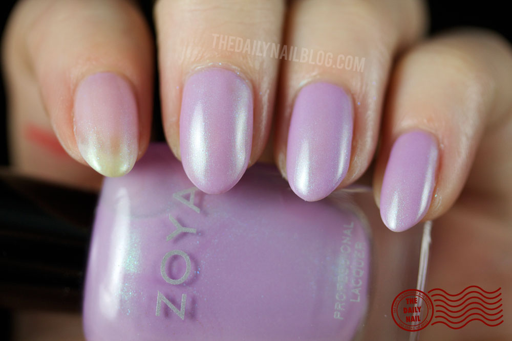 Zoya Leslie Swatch - Zoya Delight 2015 Collection