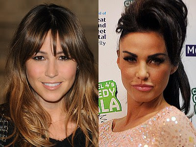 Rachel Stevens and Katie Price Which celebrity is the youngest?