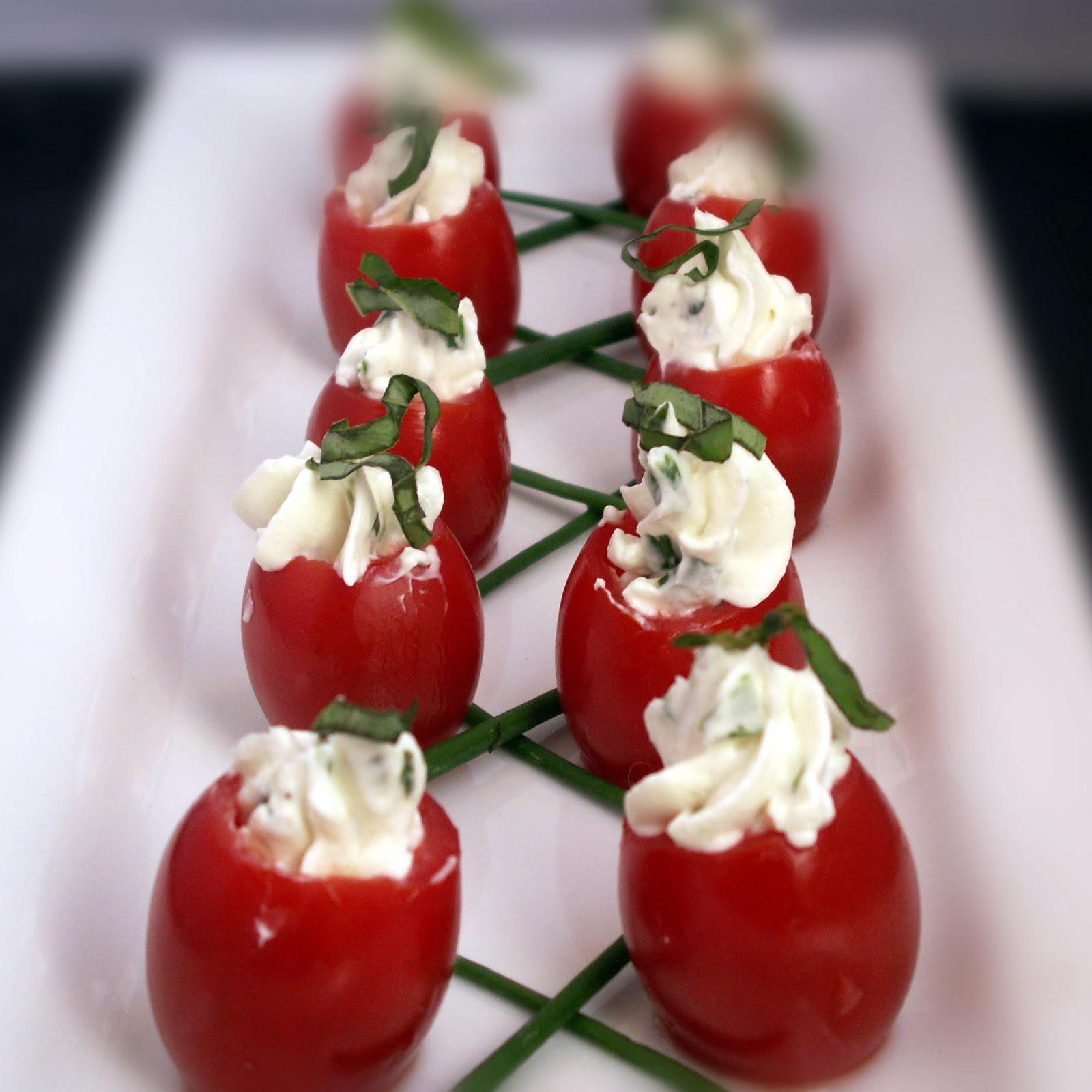 Mom, What's For Dinner?: cheese stuffed tomatoes appetizer