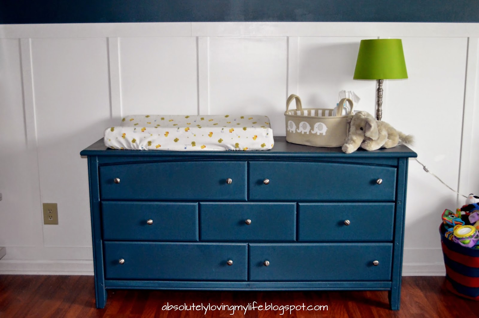 Re Purposed Goodwill Dresser Nursery Changing Table