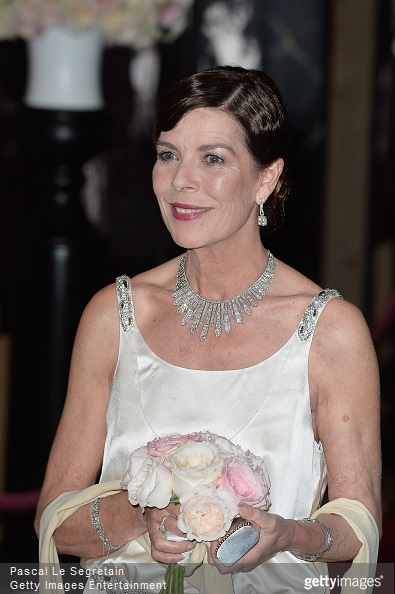 Princess Caroline of Hanover attends the Rose Ball 2015 in aid of the Princess Grace Foundation at Sporting Monte-Carlo