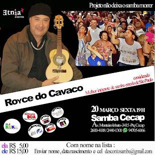 SHOW ROYCE DO CAVACO SAMBA DO CECAP