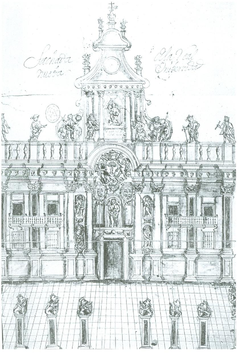 Arte en valladolid dibujos de monumentos vallisoletanos - Escuela arquitectura valladolid ...